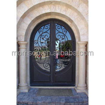 cheap price commercial glass entry door