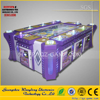 Top quality unique ticket bingo fish game machine, Mermaid and Monster go fishing lottery game machine for sale