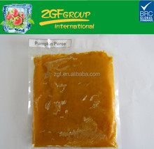 High quality Frozen pumpkin puree