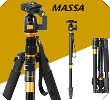 flexible aluminum safety photography camera tripod