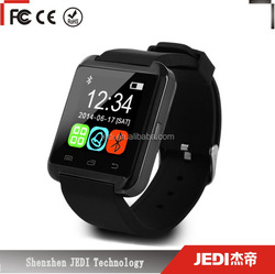 2016 cheap smart watch u8 bluetooth smart wrist watch mobile phone for Android_CO3
