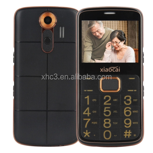 Xiaocai A600 Elders Mobile Phone 2.31 inch, Network: 2G, Dual SIM low price china mobile phone