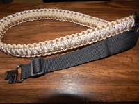 Shooting Black Service Lanyard Points Deluxe Paracord Hunting Sling