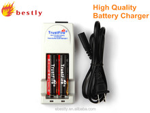 2014 Hot selling 18650 li-ion battery charger 4.2v/universal battery charger/high quality li-ion battery charger 3.7v