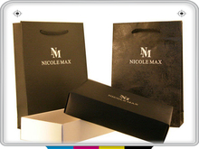 with your own website or logo shopping bag packet company