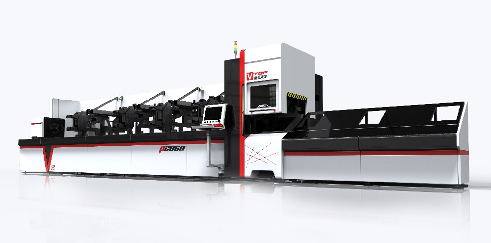 3M Dia 8M Length Fiber Metal Pipe Laser Cutter Price