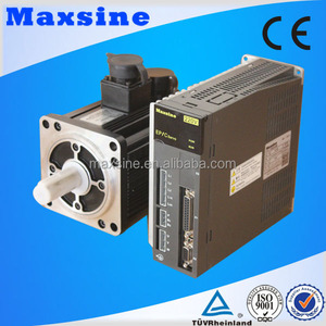 4nm ac brushless motor and servo driver