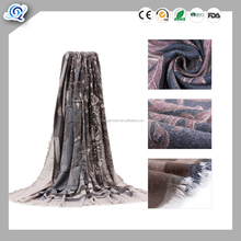 MOQ 30PCS Plain Pure Color Viscose Wholesale max women Fashion Scarf Pashmina shawl Voile Scarves