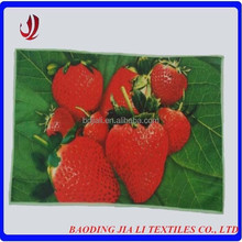 China supplier cheap custom heat transfer printed microfiber disposable kitchen tea towel