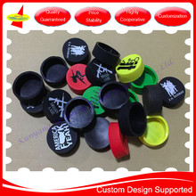 Custom OEM Logo Printed Silicone Rubber Protection Cover Cap