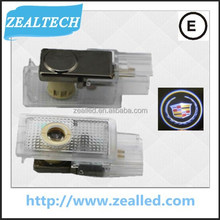 New Arrival High quality 3W real C.ree car ghost shadow light, logo light for Cadillac