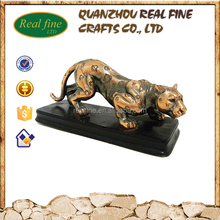 Resin animal statues polyresin animal figurine panther statue for sale