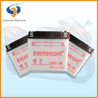 Hot Export High Quality Sealed Maintenance Free Car Batteries 12v 7AH