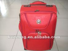 2012 Fashionable hot sell carry-on red travel luggage case