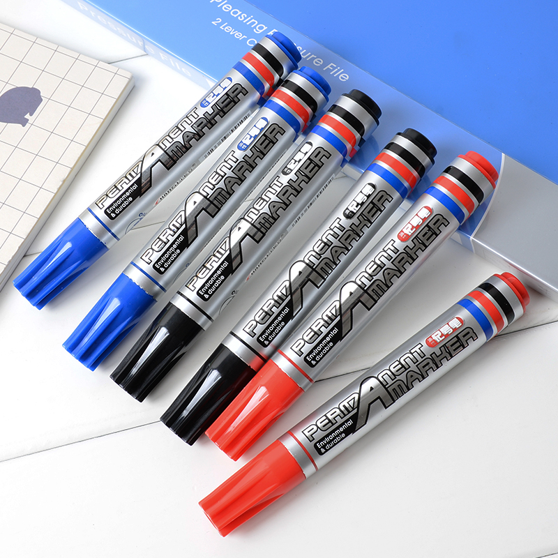 Dry-Erase & Wet-Erase Ink Type and Colored Ink Color broad tip marker pens