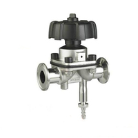 Factory Direct Hot Sale SS304/SS316L Sanitary Diaphragm Valve