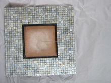 Style antique square mirror frame with mother of pearl inlayed