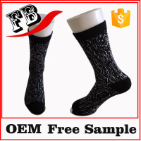 cartoon tube sock non slip sock for adults
