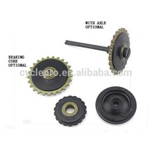 Motorcycle engine part 70,90,100,110 MODEL tension pulley & oil pump gear & guide pulley