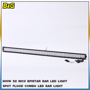 bar led light 300w 52inch LED light bars Spot Flood Combo Beam