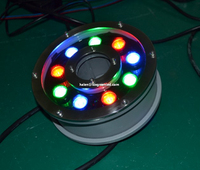 Factory 27w IP68 RGB Colorful Led Underwater Lights/ Swimming Pool Lights