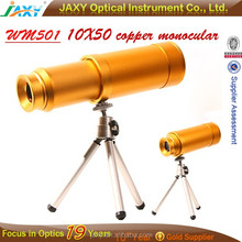 free fixed focus Pirate monocular telescope 10X50