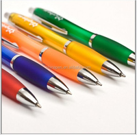 AA8001 rainbow color plastic ball pen / Office & School Supplies