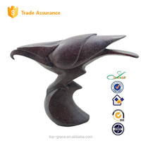 resin animal for home decoration abstract eagle statue
