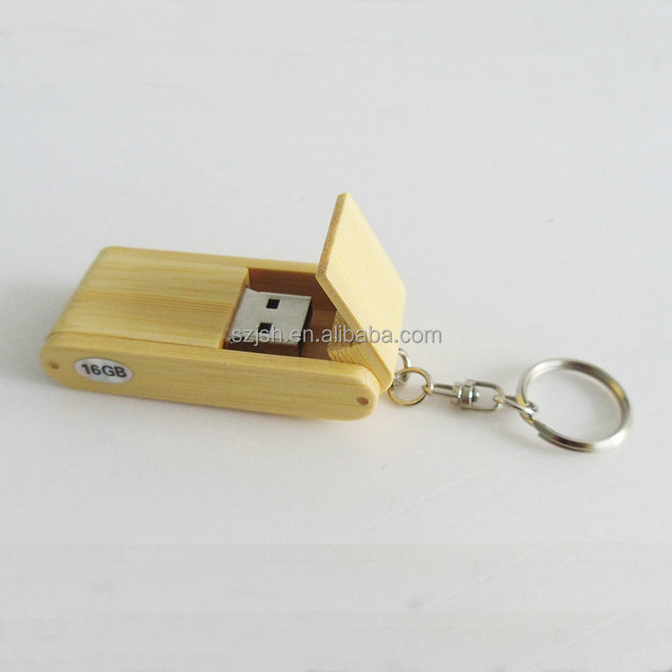 Updated custom low cost Swivel bulk usb flash drive wood with logo printing