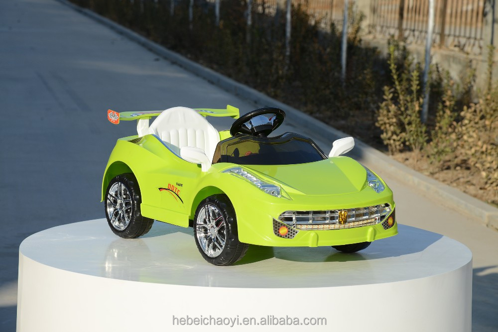 hebei supply for child age 4 wheels mini electric car battery kids driving car /children car