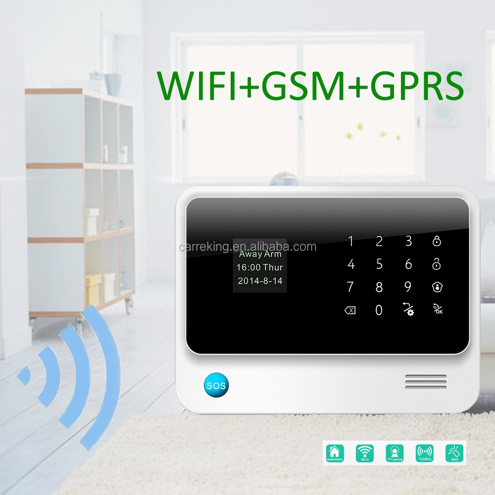 Alarm security systems gps gsm car alarm and tracking system