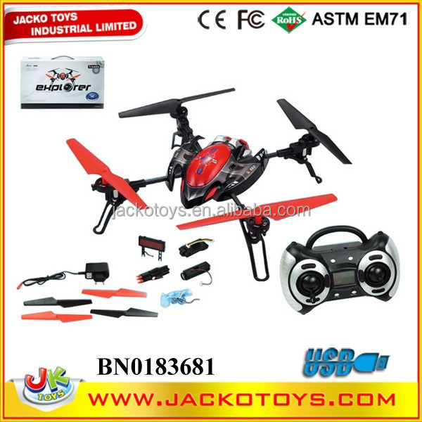 China manufacture 2.4GHZ Multi Function 4CH Big Aircraft