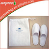 mini cotton drawstring bag for shoes