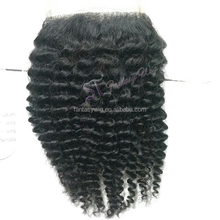2014 newest style Japan fiber curly black bulk toupee hair extensions