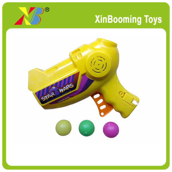 Plastic toy ball shooting Gun