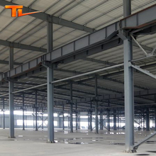 China Multi-storey Light Steel Structure Frame Prefabricated Industry Building Construction