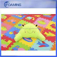 baby foam jigsaw letter puzzle mat/eva foam interlocking mat