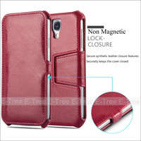 Wholesale Flip Magnetic Pu Leather Stand Cover Case For Samsung Galaxy S4