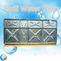 The best price!! raw material steel channel galvanized steel water storage tank