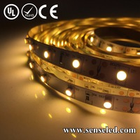 UL Listed Nonwaterproof 12V 1.44W/FT 18LED 144LM Per Foot 16.4FT Roll 80RA CRI 2700K 3528 warm white flexible smd led strip