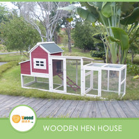 Big chicken coop for 6-10 chickens pet house with run cages