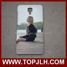 High quality phone accessories mobile customed sublimation 3d case for Xiaomi 4