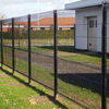 Professional factory black welded wire fence mesh panel prices