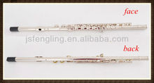 hot-selling 16 closed-hole Nickel Plated flute