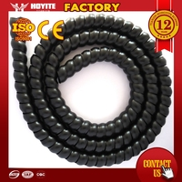 Factory competitive price plastic spiral guard/plastic spiral guard/spiral hydraulic hose guard