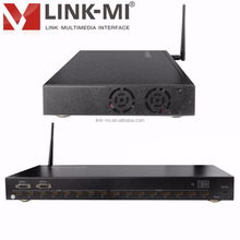LINK-MI LM-MX88-3DCAT 8 HDMI input ports and 8 UTP output ports RS232 Video Matrix Switch