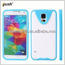 fashion cell phone case frame tpu for samsung s5 tpu bumper cse i9600