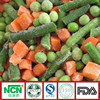 Carrot dices Green peas Green beans mixed frozen vegetable