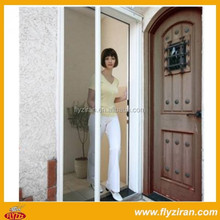Aluminium roll up screen door