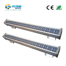 54*3W dmx512 controlled ip65 RGB led wall washer/city color light